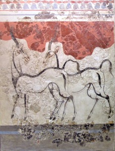 Fresk från Akrotiri