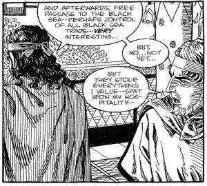 Agamemnon och Menelaos