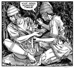 Achilles och Patroklos
