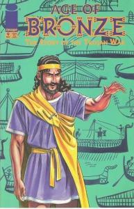 Agamemnon på omslaget till Age of bronze 9