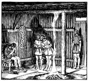 Agamemnon i sitt fältkvarter