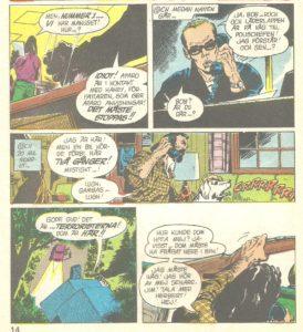 Bob Haney bor ensligt med hund och bössa.