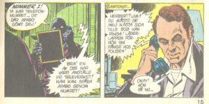 Herbert, alias Murray Boltinoff. Och rutan med skurkarna visar att det utspelar sig före mobiltelefonerna.